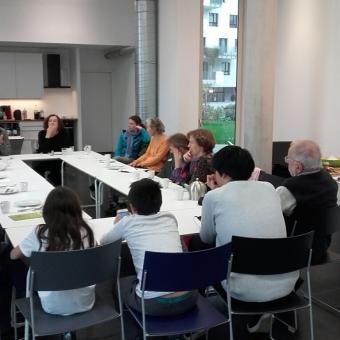 """Initiative Gemeinsam Bauen und Wohnen Wohnprojekte """"Frühstück JAspern"""""""